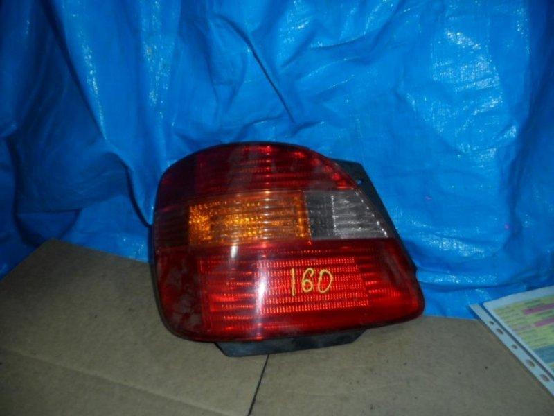 Стоп-сигнал Toyota Aristo JZS161 2001 задний левый (б/у)