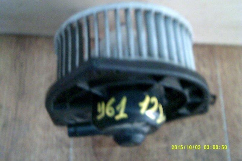 Мотор печки Nissan Patrol Y61 2000 (б/у)