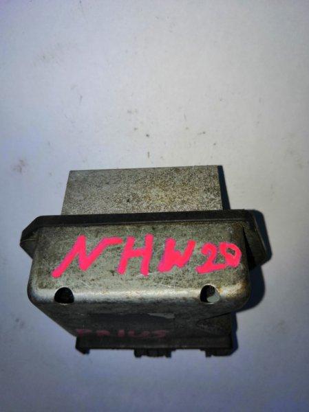 Реостат Toyota Prius NHW20 (б/у)