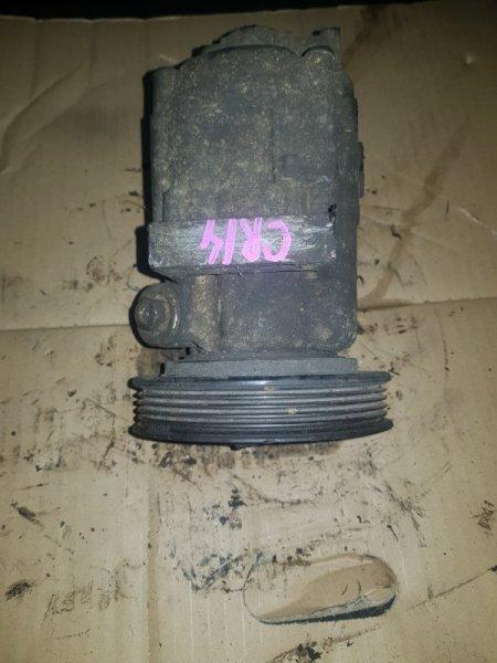 Компрессор кондиционера Nissan Cube BZ11 CR14DE (б/у)