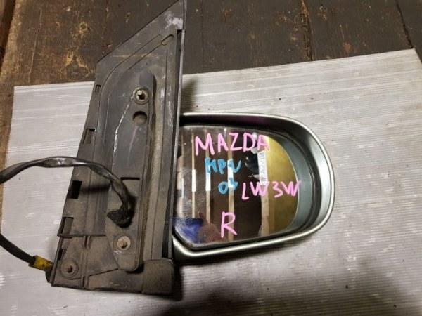 Зеркало Mazda Mpv LW3W AJ переднее правое (б/у)