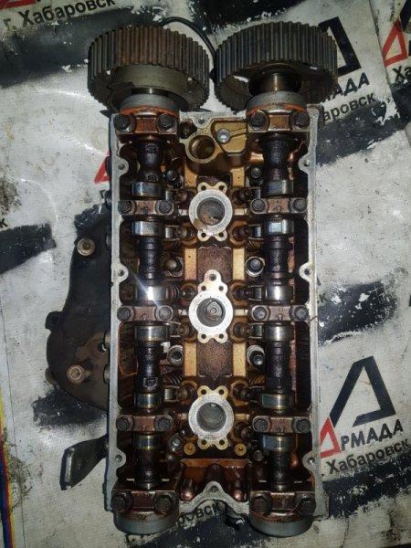 Головка блока цилиндров Mitsubishi Galant E33A 6A13 (б/у)