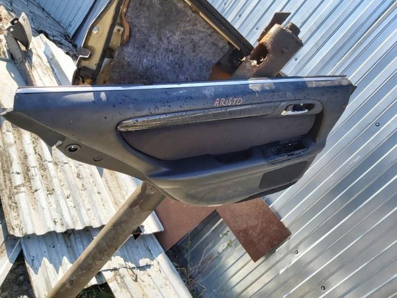 Дверная карта Toyota Aristo JZS147 2JZGTE задняя левая (б/у)