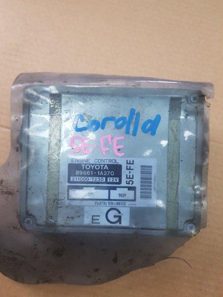 Блок управления efi Toyota Corolla EE100 5E-FE (б/у)