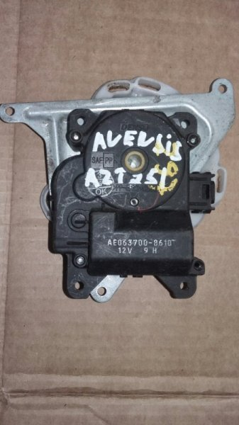 Сервопривод заслонок печки Toyota Avensis AZT251 2AZ (б/у)