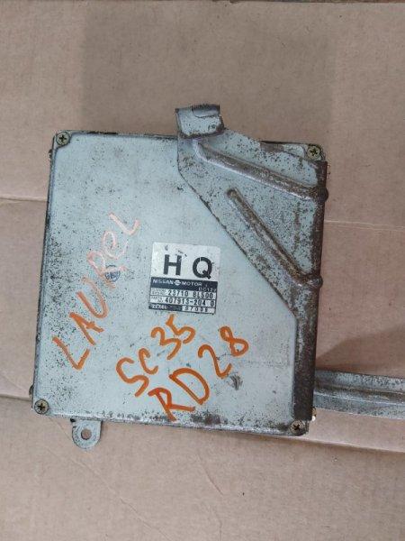 Блок управления efi Nissan Laurel C35 RD28 (б/у)
