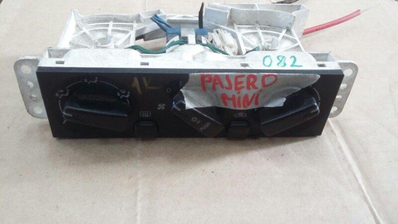 Климат-контроль Mitsubishi Pajero Mini H58A 4A30 (б/у)