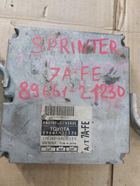 Блок управления efi Toyota Carina AT211 7AFE (б/у)