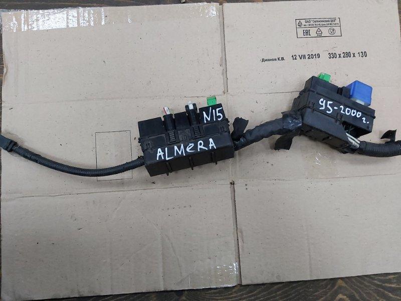 Блок предохранителей Nissan Almera N15 CD20 (б/у)