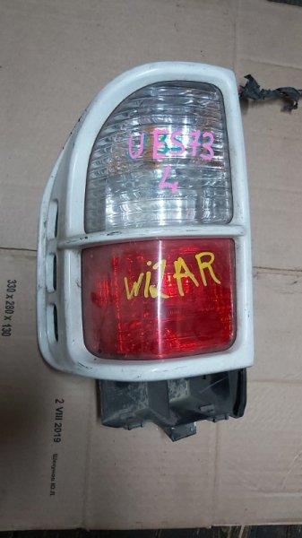 Стоп-сигнал Isuzu Wizard UES73 задний левый (б/у)