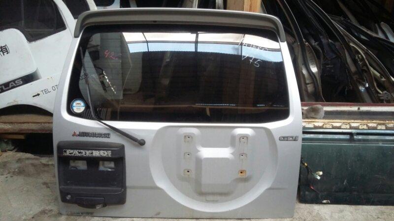 Дверь 5-я Toyota Pajero V75W 6G72 задняя (б/у)
