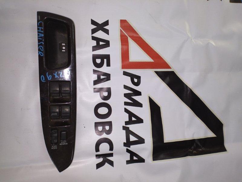 Пульт стеклоподъемника Toyota Chaser JZX90 передний правый (б/у)