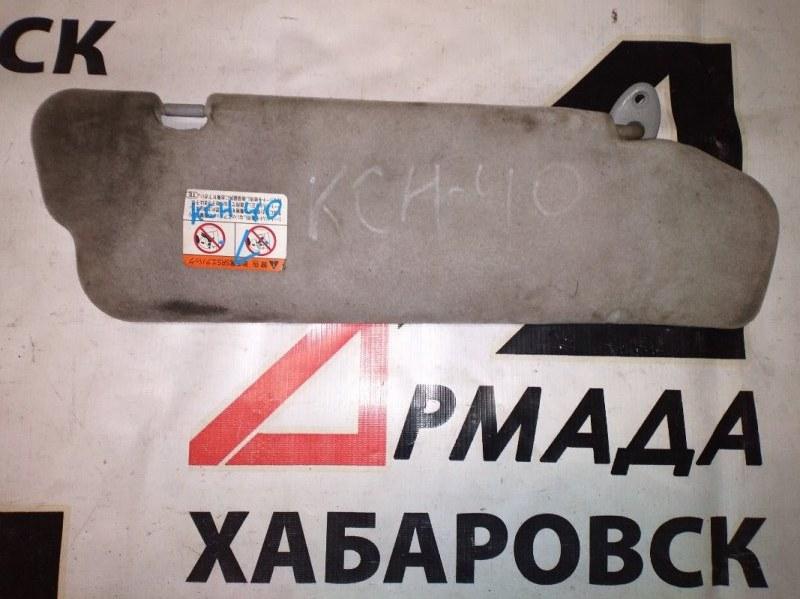 Козырек солнцезащитный Toyota Regius KCH40 левый (б/у)