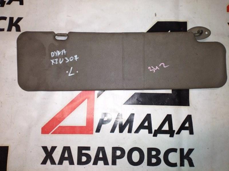 Козырек солнцезащитный Toyota Duna XZU307 левый (б/у)