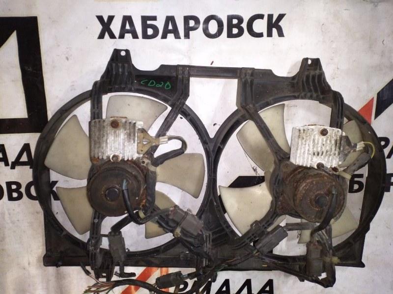 Вентилятор радиатора Nissan Serena C23 CD20 (б/у)