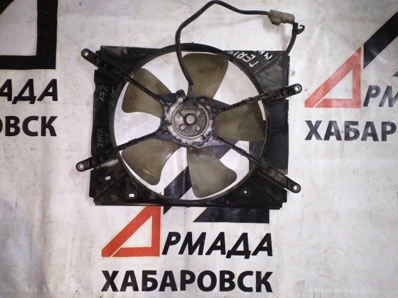 Вентилятор радиатора Daihatsu Terios Kid J111G EF (б/у)