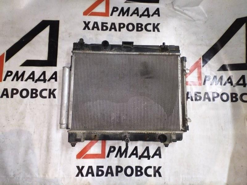 Радиатор основной Toyota Belta NCP96 (б/у)
