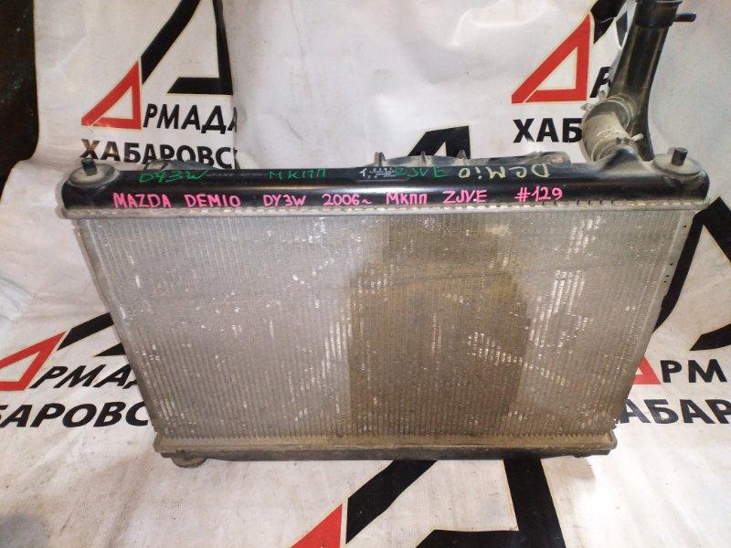 Радиатор основной Mazda Demio DY3W ZJVE (б/у)
