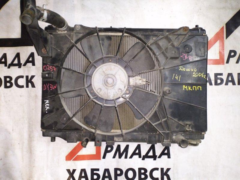 Вентилятор радиатора Mazda Demio DY3W ZJVE (б/у)