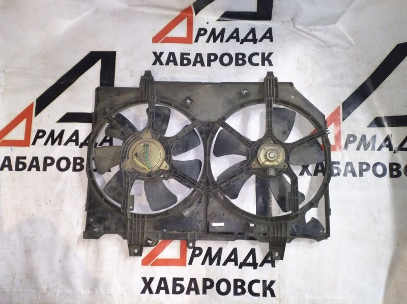 Вентилятор радиатора Nissan Presage U30 YD25 (б/у)