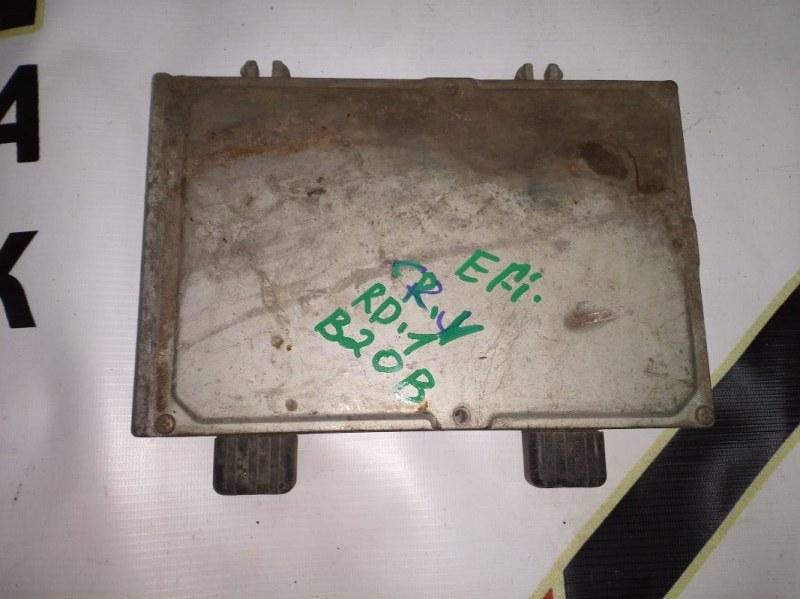 Блок управления efi Honda Cr-V RD1 B20B (б/у)