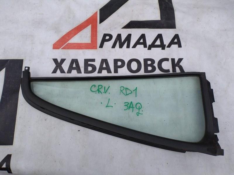 Форточка двери Honda Cr-V RD1 задняя левая (б/у)