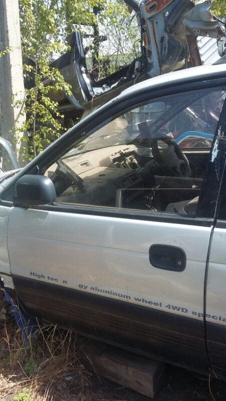 Дверь Mitsubishi Rvr N23W передняя левая (б/у)