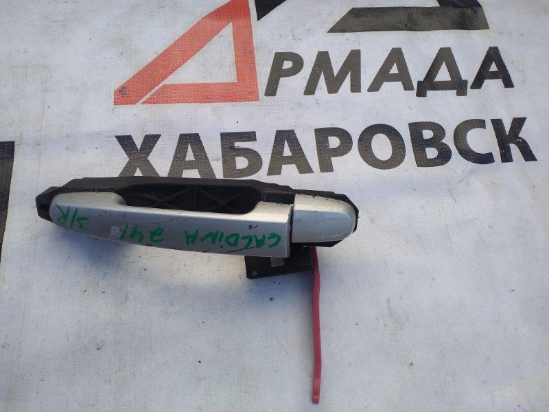Ручка двери внешняя Toyota Caldina ZZT240 задняя правая (б/у)
