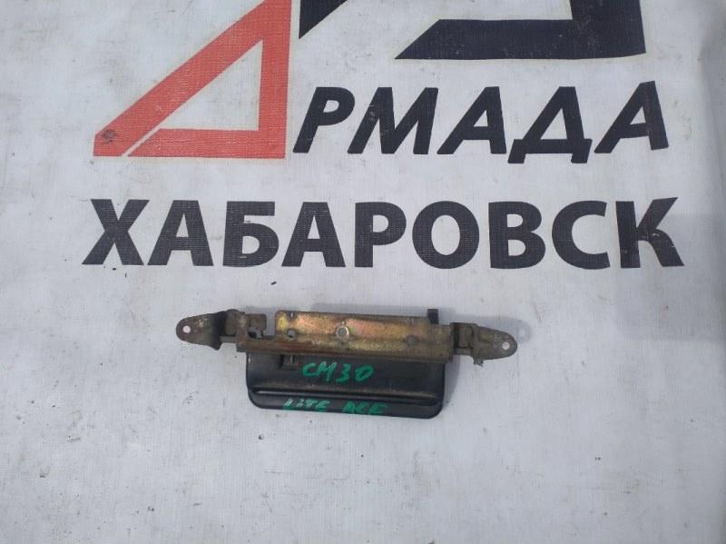 Ручка двери внешняя Toyota Lite Ace CM30 задняя (б/у)