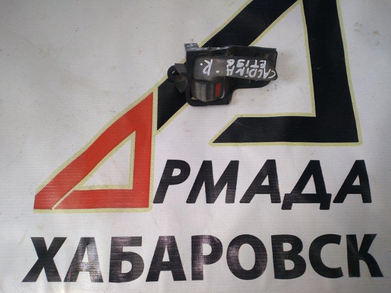 Ручка двери внутренняя Toyota Caldina ET196 передняя правая (б/у)