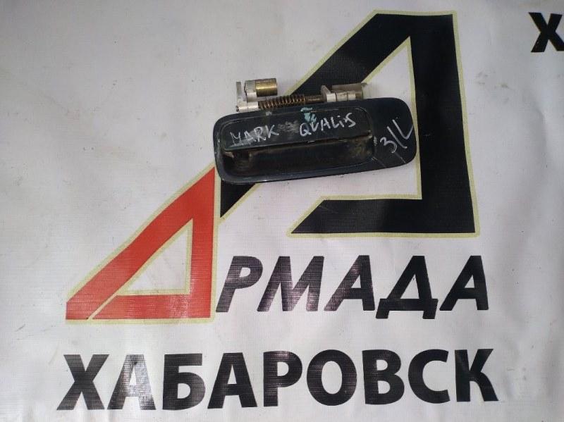 Ручка двери внешняя Toyota Mark Ii Wagon Qualis SXV25 задняя левая (б/у)