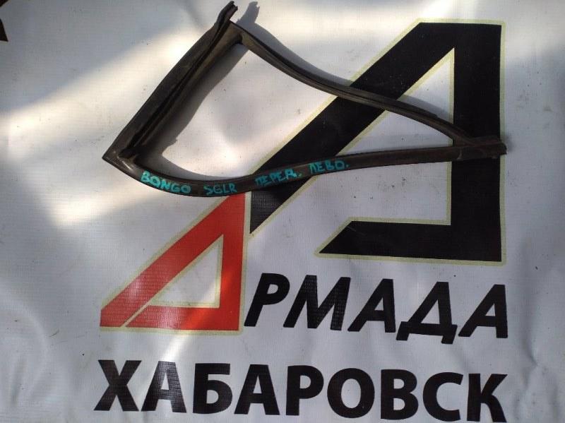 Уплотнительная резинка на стекло двери Mazda Bongo Friendee SGLR передняя левая (б/у)