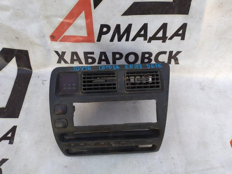Консоль центральная Toyota Corolla AE100 (б/у)