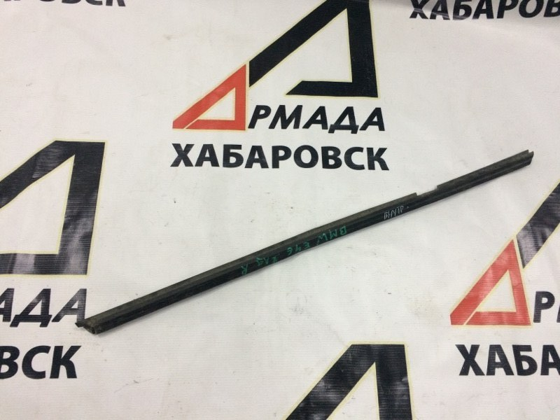 Уплотнительная резинка на стекло двери Bmw 3-Series Е46 задняя правая (б/у)