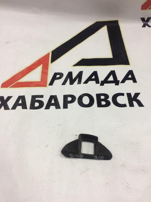 Уплотнительная резинка дверей Bmw 3-Series Е46 задняя правая (б/у)