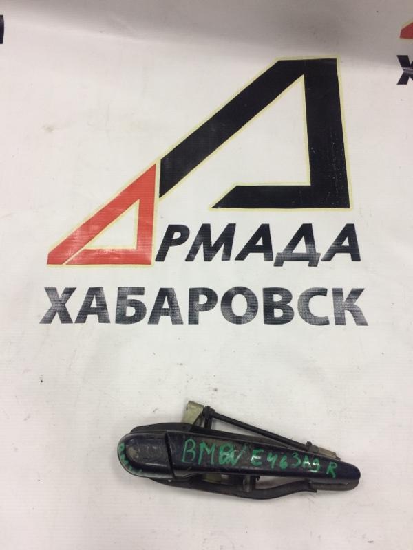 Ручка двери внешняя Bmw 3-Series Е46 задняя правая (б/у)