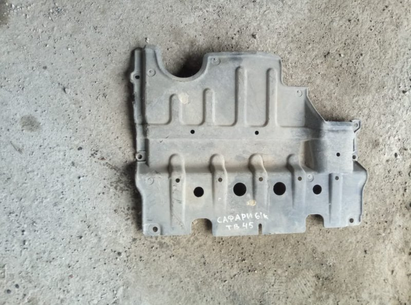 Защита двигателя Nissan Safari Y60 TB45 (б/у)