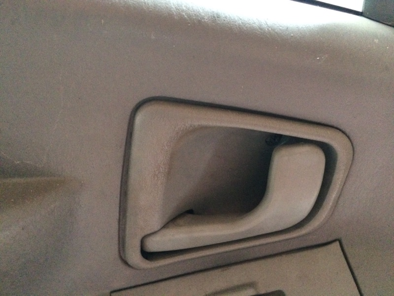Ручка двери внутренняя Mitsubishi Canter FB501 передняя левая (б/у)