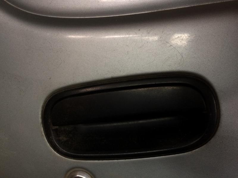 Ручка двери внешняя Toyota Town Ace CR38 передняя правая (б/у)