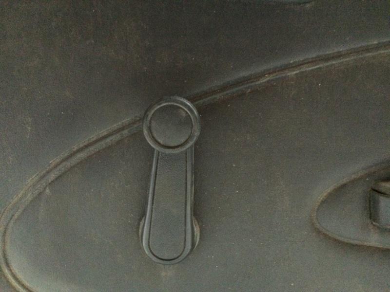 Ручка стеклоподъемника Toyota Corolla AE101 задняя правая (б/у)