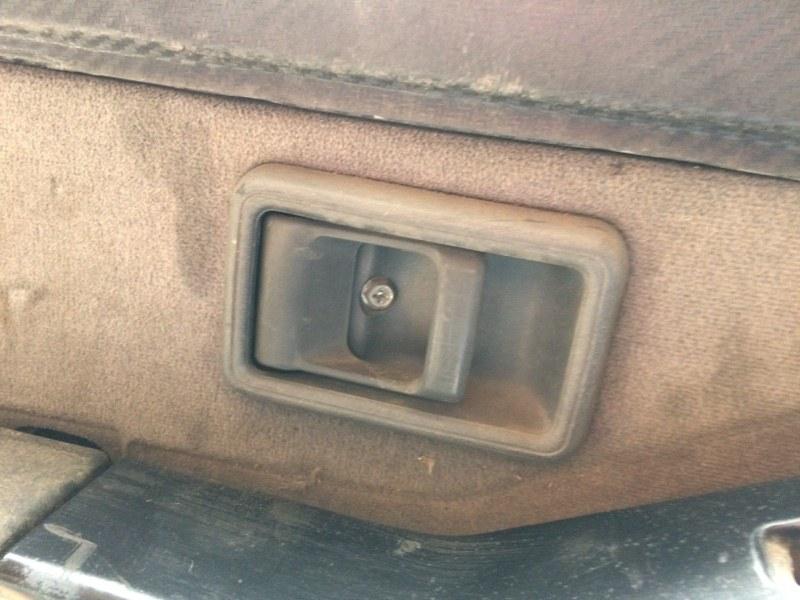 Ручка двери внутренняя Nissan Safari Y60 передняя левая (б/у)
