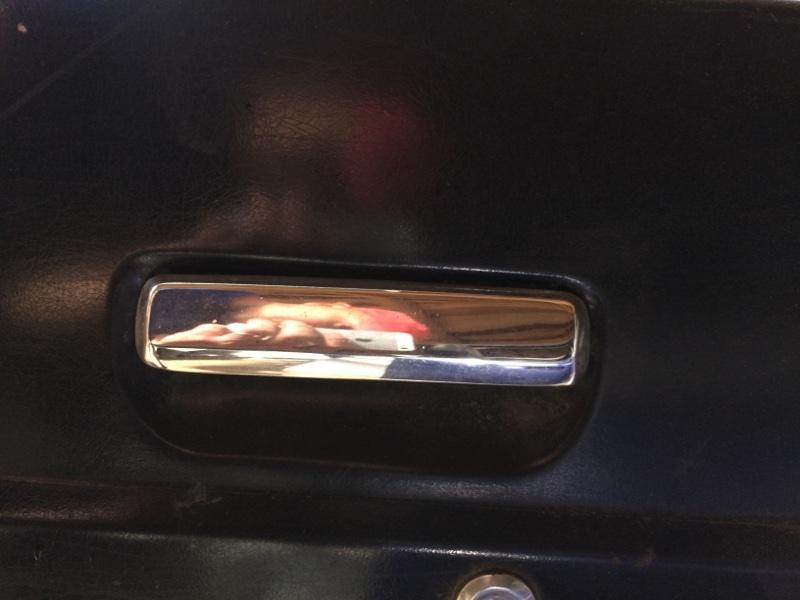 Ручка двери внешняя Nissan Safari Y60 передняя левая (б/у)