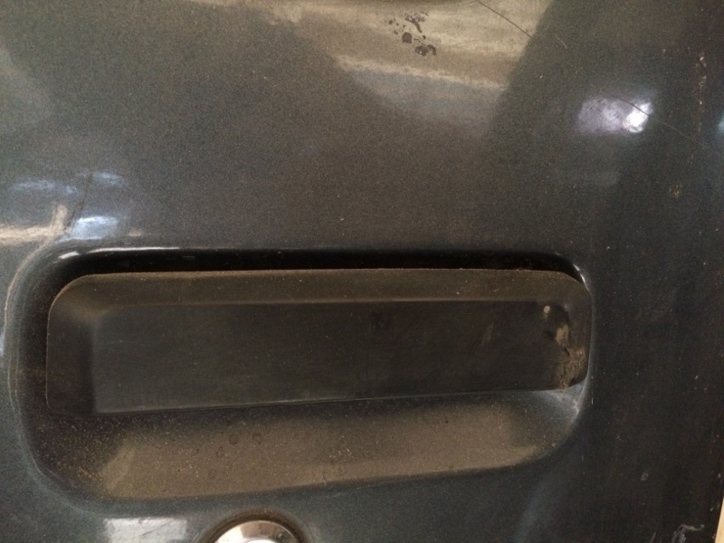 Ручка двери внешняя Nissan Largo C22 передняя левая (б/у)