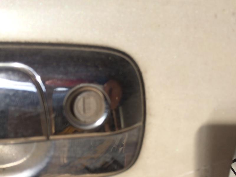 Личинка замка Toyota Crown JZS171 передняя левая (б/у)