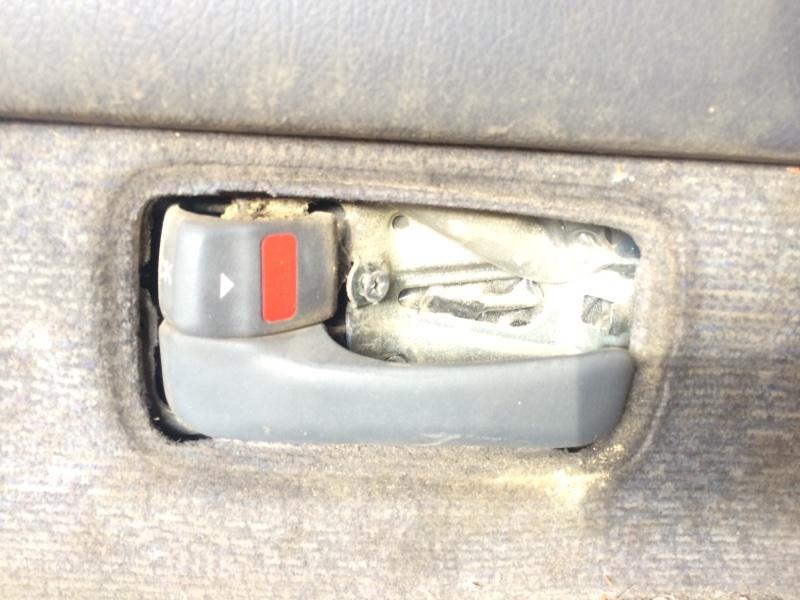 Ручка двери внутренняя Toyota Land Cruiser HDJ81 задняя левая (б/у)