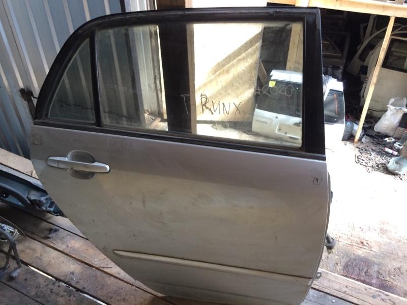 Дверь Toyota Corolla Runx NZE121 задняя правая (б/у)