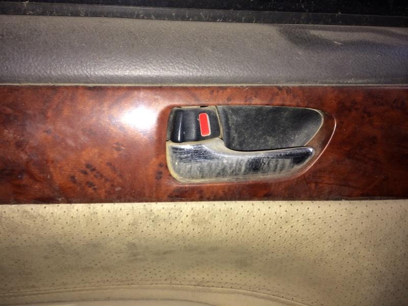 Ручка двери внутренняя Toyota Ipsum ACM21 задняя левая (б/у)