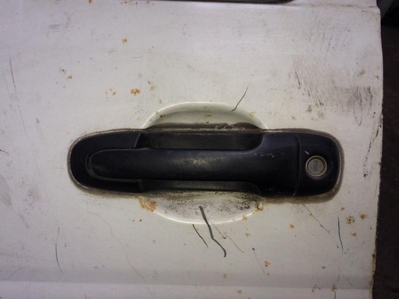 Ручка двери внешняя Toyota Town Ace CR52 задняя правая (б/у)