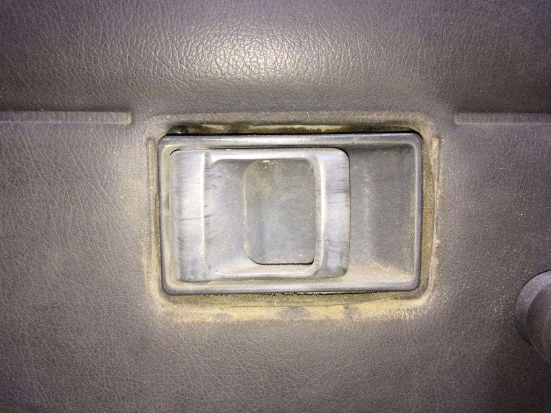 Ручка двери внутренняя Nissan Datsun QMD21 передняя левая (б/у)