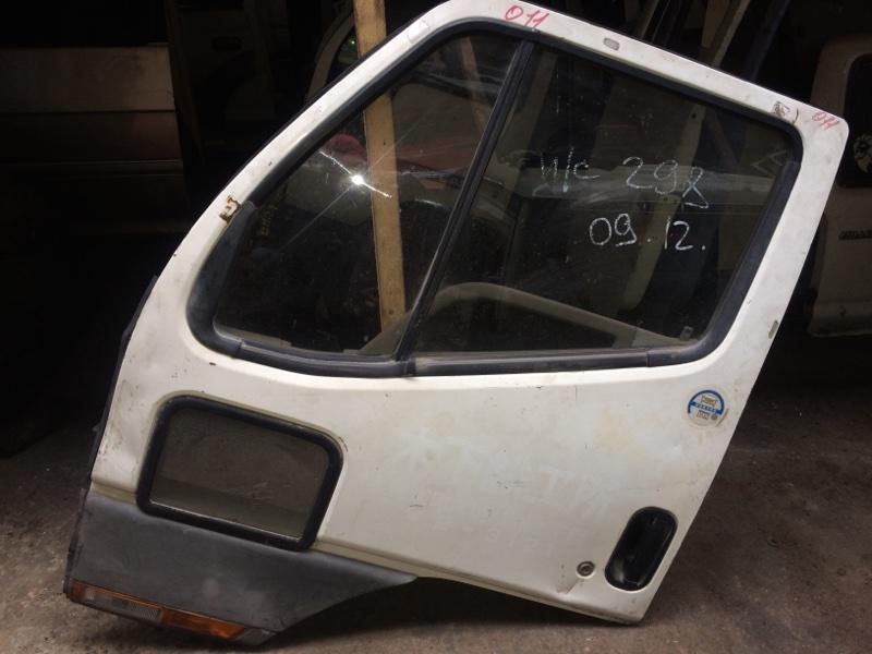 Дверь Mitsubishi Canter FG638E передняя левая (б/у)